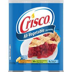 Crisco® All-Vegetable Shortening - 6lb can