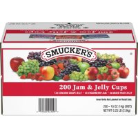 Smucker's Assorted Jelly Cups (0.5 oz., 200 ct.)
