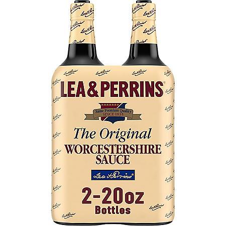 Lea & Perrins Worcestershire Sauce (20 oz., 2 pk.)