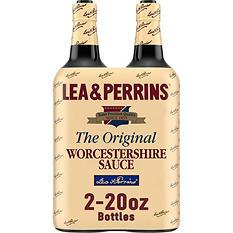 Lea & Perrins Worcestershire Sauce (20 oz. bottle, 2 ct.)