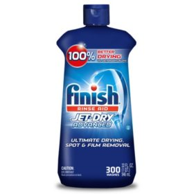 Finish Jet-Dry Rinse Aid, Dishwasher Rinse Agent & Drying Agent (32oz.)