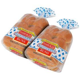 Klosterman Family Size Hamburger Buns (16 ct)