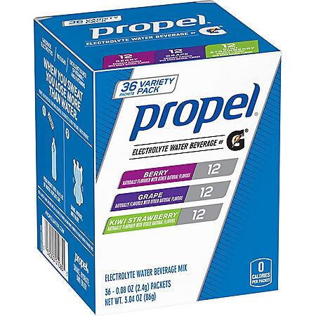 bd19ba618c Propel Zero Powder Variety Pack (36 ct.) - Sam's Club