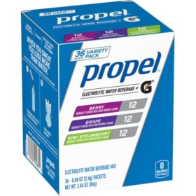 Propel Zero Powder Variety Pack (36 pk.)