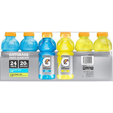 Gatorade Lemon Lime and Cool Blue Pack (20 oz. ea., 24 pk.)