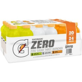 Gatorade Zero Thirst Quencher Variety Pack (20 oz., 24 pk.)