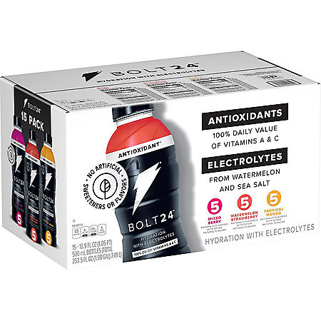 BOLT24 Fueled by Gatorade Variety Pack (16.9oz /15pk)