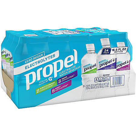 Propel Zero Calorie Flavored Water Variety Pack (16.9oz / 24pk)