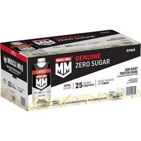 Muscle Milk Genuine Non-Dairy Protein Shake, Vanilla (11 fl. oz., 18 pk.)