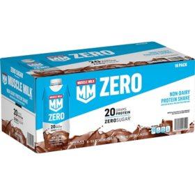 Muscle Milk Zero Non-Dairy Protein Shake, Chocolate (11 fl. oz., 18 pk.)