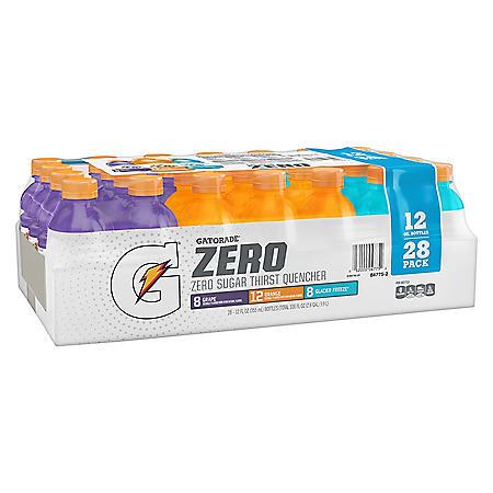 Gatorade Zero Variety Pack (12 fl. oz., 28 pk.)