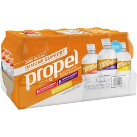 Propel Immune Support Zero Sugar Variety Pack (16.9 fl. oz., 24 pk.)