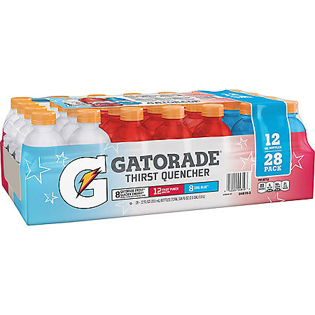 Gatorade Liberty Variety Pack (12 fl. oz., 28 pk.)