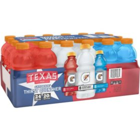 Gatorade Texas Liberty Pack (20 fl. oz., 24 pk.)