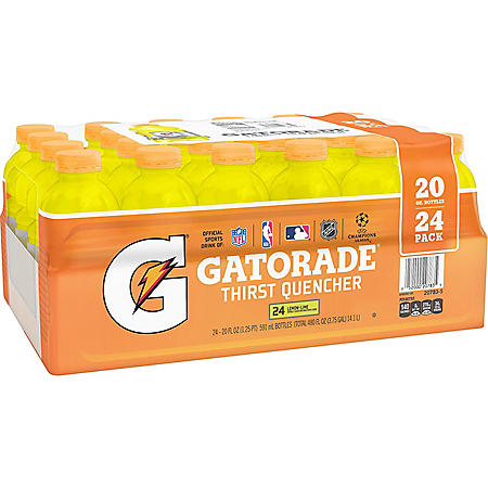Gatorade Lemon-Lime (20 oz., 24 pk.)