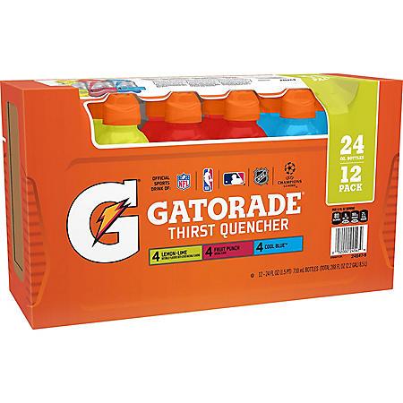 Gatorade Variety Pack (24 oz., 12 pk.)