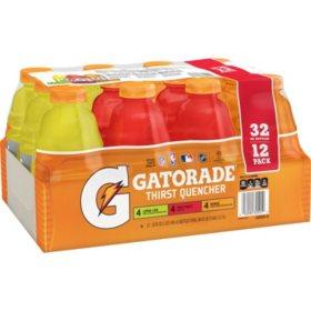 Gatorade Classic Variety Pack (32 oz., 12 pk.)