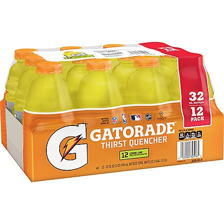 Gatorade Lemon-Lime (32 oz., 12 pk.)