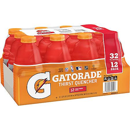 Gatorade Fruit Punch (32 oz., 12 pk.)