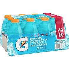 Gatorade Frost Glacier Freeze Thirst Quencher (32 fl. oz. bottles, 12 pk.)