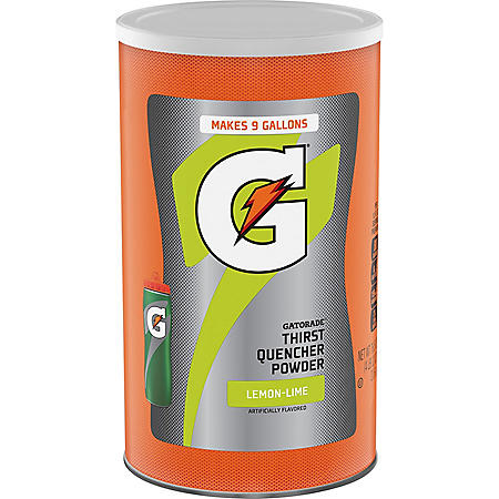 Gatorade Powder Lemon-Lime (76.5oz)