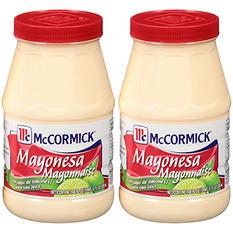 McCormick Mayonnaise with Lime Juice (28 fl. oz., 2 pk.)