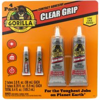 Deals on 4 Pack Gorilla Clear Grip