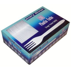 Every Dinner® Plastic Forks - 200 ct.