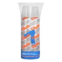 Club Cups® 7oz. Clear Plastic Cups - 300 ct.