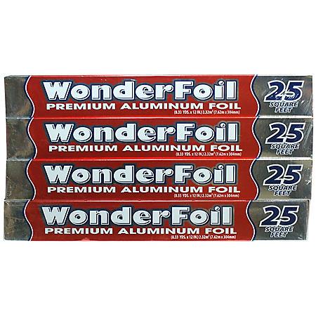 WonderFoil Premium Aluminum (4 pk./25 sq. ft.)