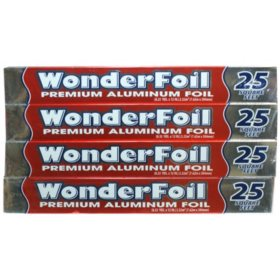 WonderFoil Premium Aluminum (4 pk./25 sq. ft.)