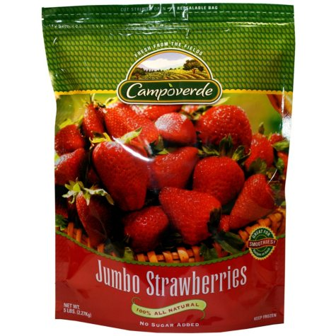 Campoverde Jumbo Strawberries - 5 lb.