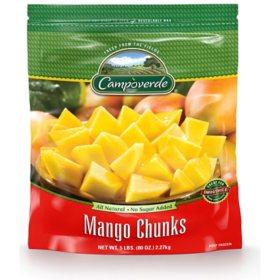 Campoverde Mango Chunks, Frozen (5 lbs.)