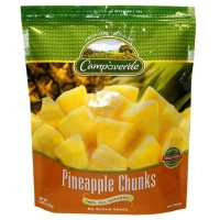 Campoverde Pineapple Chunks, Frozen (5 lbs.)