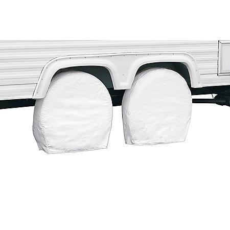Classic Accessories Snow White RV Wheel Cover