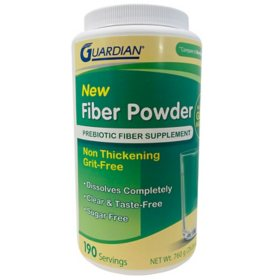 Guardian Completely Dissolvable Clear Prebiotic Plant Based Fiber Supplement (190 ct.)