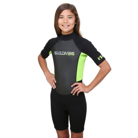 US Divers Youth Multi Sport Shorty Wetsuit