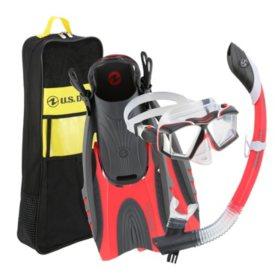 U.S. Divers Adult Premium Snorkel Set