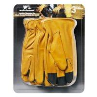 Wells Lamont Grain Leather Glove - 3 pk. - XL