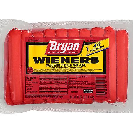 Bryan Wieners (40 ct.)