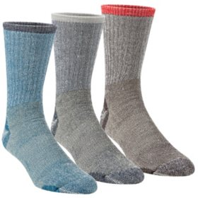 Omniwool Merino Wool Lightweight Hiker Socks (3-Pack)