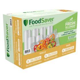 FoodSaver Roll Combo Pack