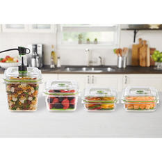 FoodSaver® Fresh Containers, Set of 4 with Bonus Produce Trays