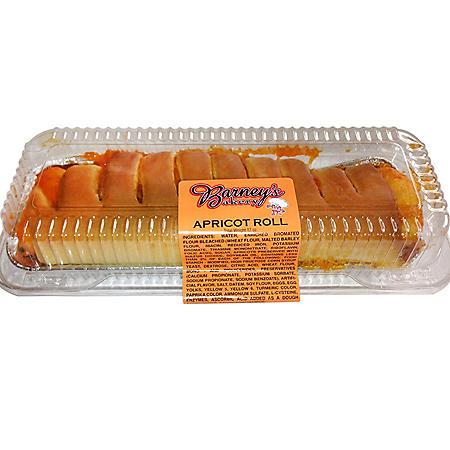 Barney's Bakery Apricot Roll (17oz)
