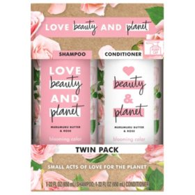 Love Beauty and Planet Murumuru Shampoo and Conditioner (2 pk., 22 fl. oz)