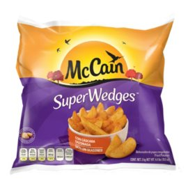 McCain Super Wedges Fried Potatoes 4.4lbs