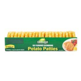 Cavendish Farms Hashbrown Potato Patties 20ct