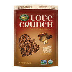 Nature's Path Love Crunch Dark Chocolate Cinnamon & Cashew Granola (26.4 oz.)