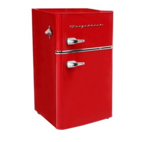 Frigidaire 3.2 cu. ft. 2 Door Retro Bar Fridge (Assorted Colors)