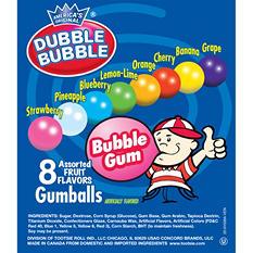 Dubble Bubble Assorted Gumballs - Choose your size!